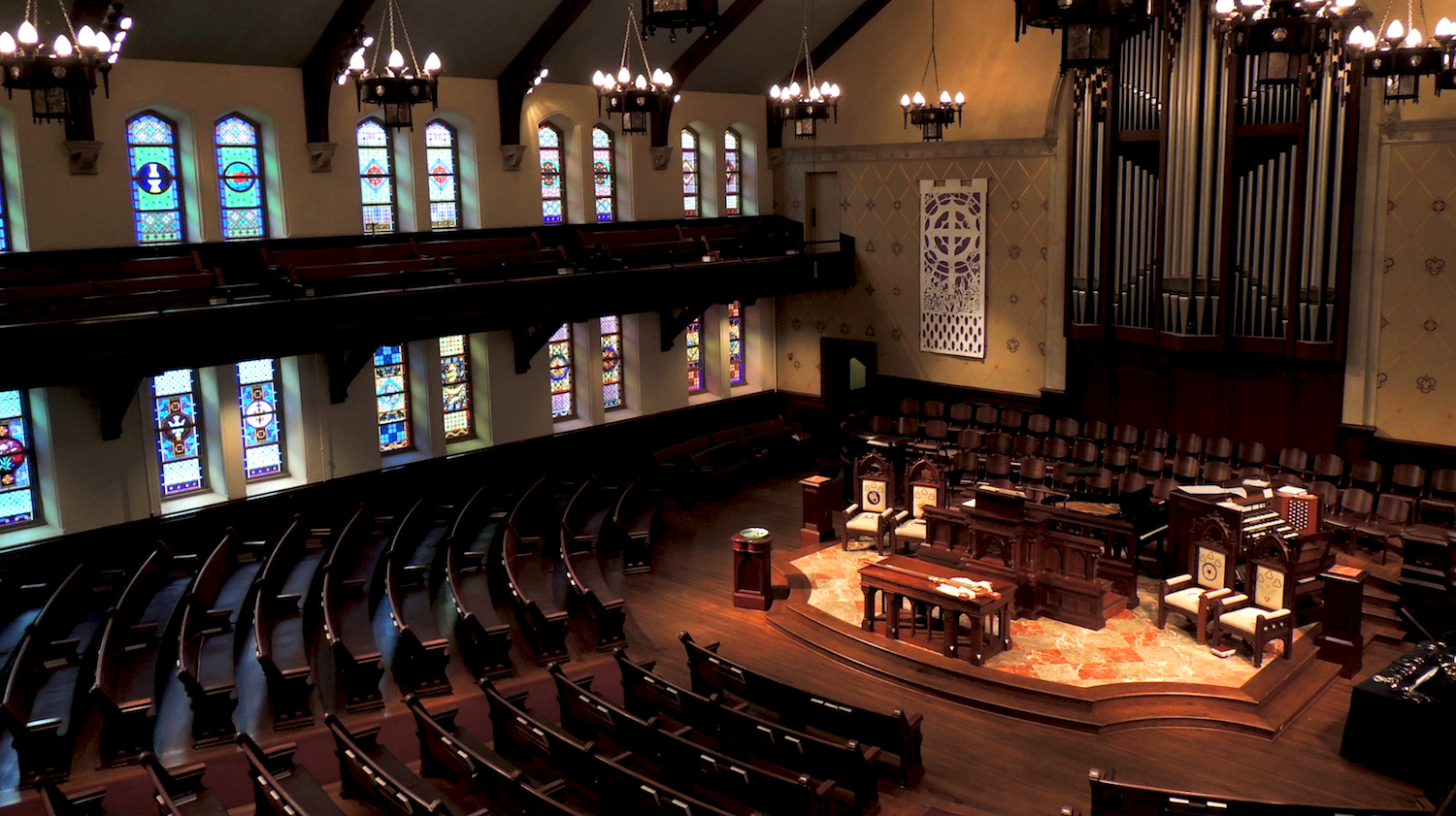 Sanctuary of Central Presbyterian Church